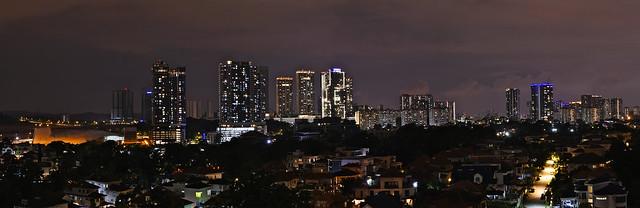 Cityscape from my balcony