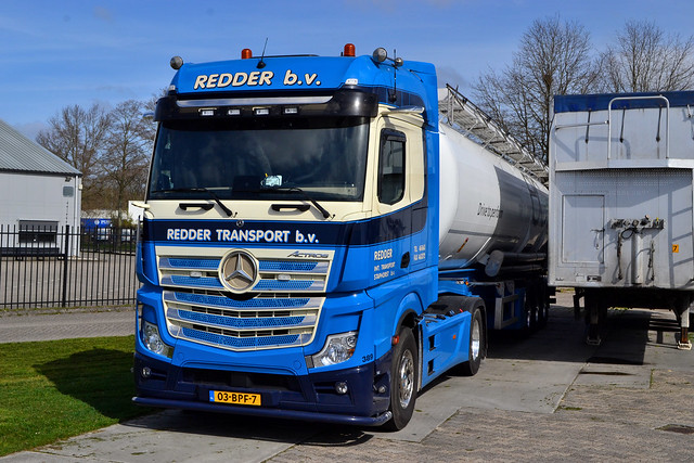 Mercedes Benz Actros MP5 Redder Staphorst