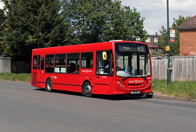 Route K5, London United, DDE20321, YX10EBA