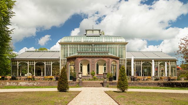 The Winter Garden in Cantons Park
