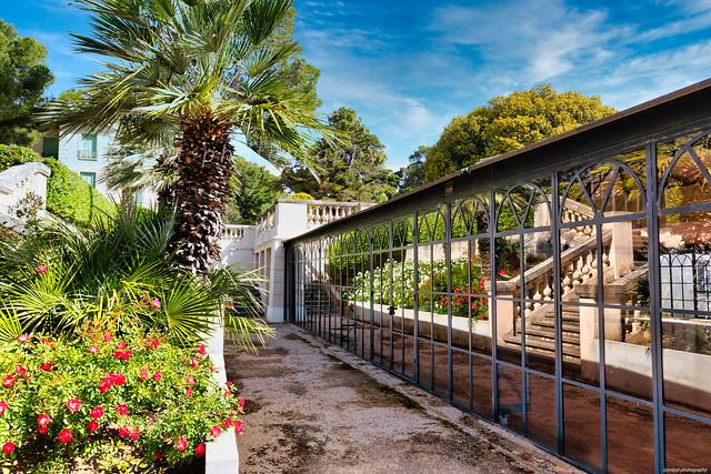les jardins de la Villa Eleinroc  -3D0A2086