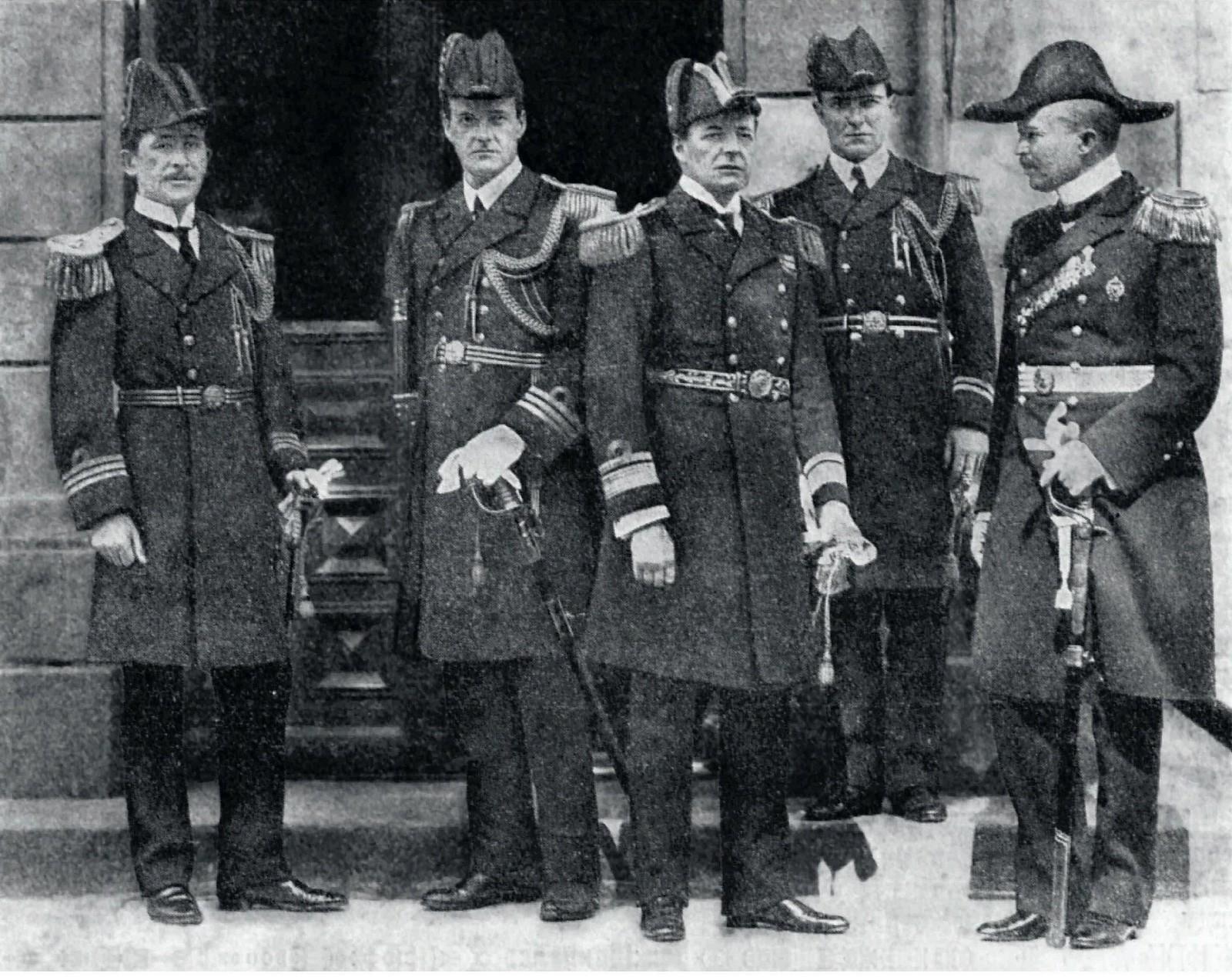 1914. Адмирал Дэвид Битти, командующий английской эскадрой. Кронштадт