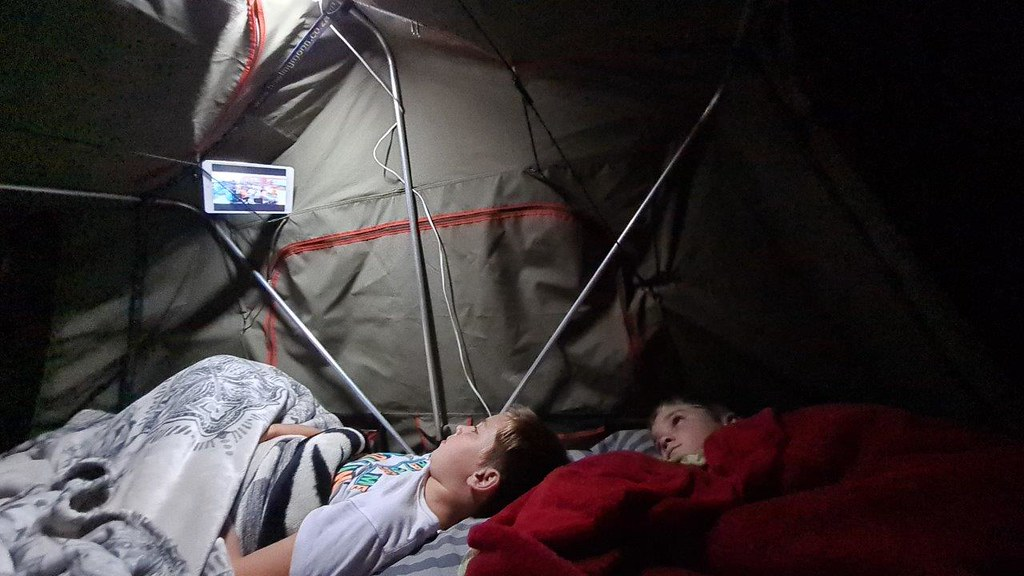 Solo camp @ Moon River Bush Camp