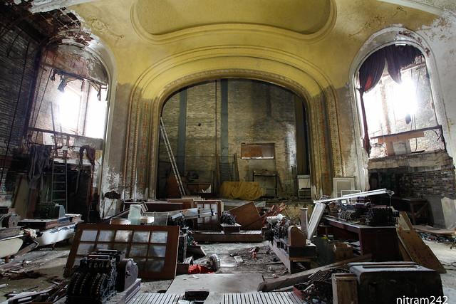 Racine Capitol Theater Ruins