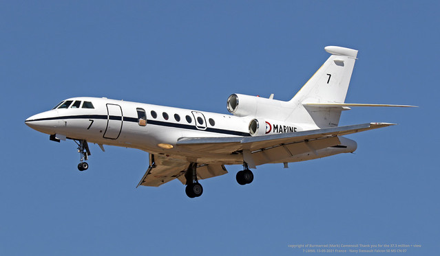 7 LMML 13-05-2021 France - Navy Dassault Falcon 50 MS CN 07