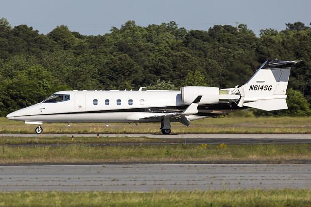 N614SG - Learjet 60 - KPDK - May 2021