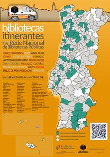 Bibliotecas itinerantes da RNBP