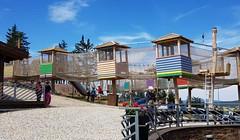Dětský park na vrcholu Plešivce