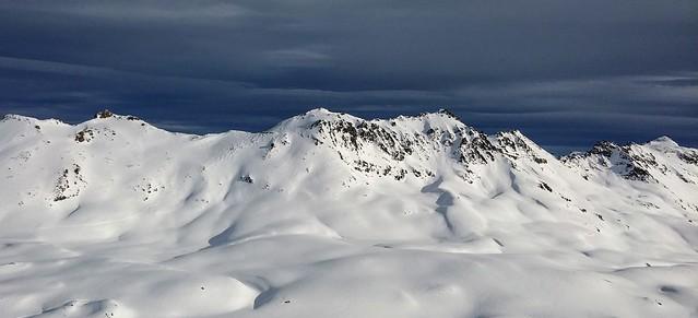 Tignes/Alpes - A proximité du glacier de la Leisse/ de la Grande Motte