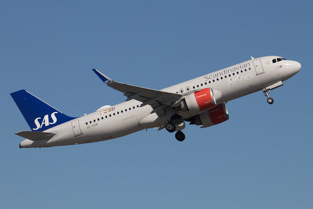 SAS Scandinavian Airlines Airbus A320-251N SE-ROM 210512 ARN