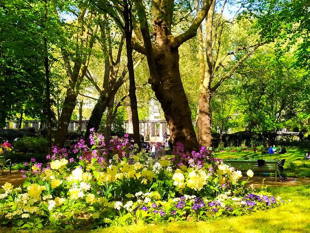 228 - Paris en Avril 2021 - dans le Parc de Bercy