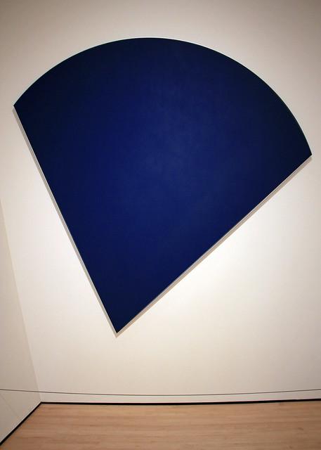 Blue Panel, by Ellsworth Kelly