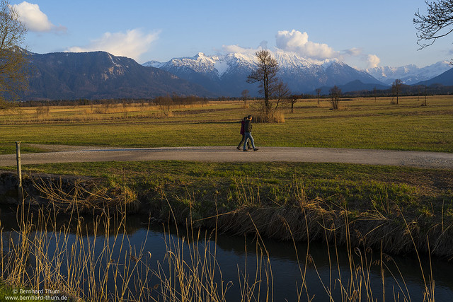 Evening walk at Murnau