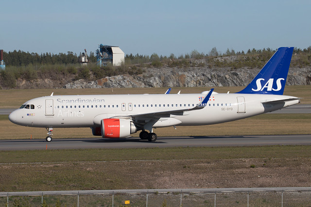 SAS Airbus A320-251N SE-DYD 210512 ARN .