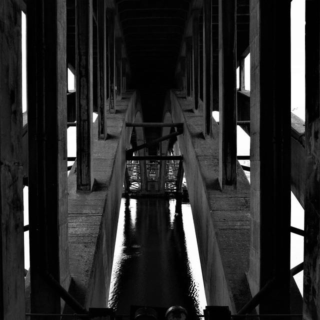 Under the Bridge at Berwick on Tweed