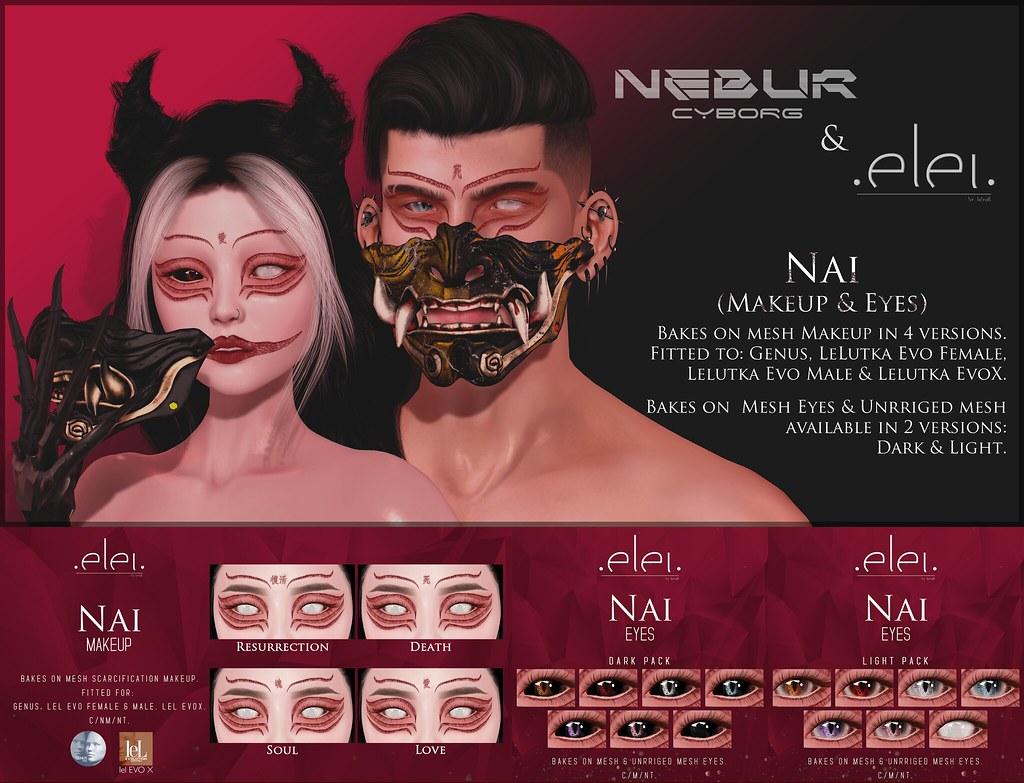 Nebur Cyborg & .E l e i. Collab for Pandora Event