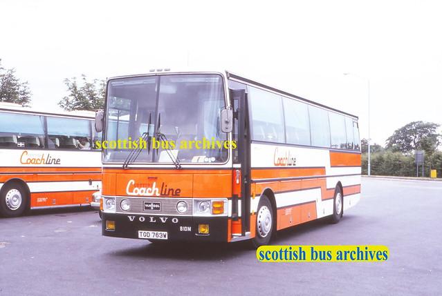 COTTER'S TOURS CL3 TGD763W