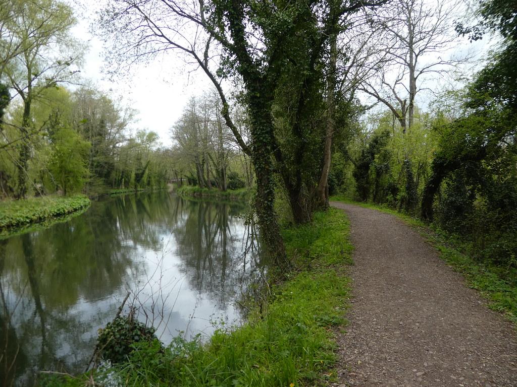Towpath between Aldermaston and Woolhampton