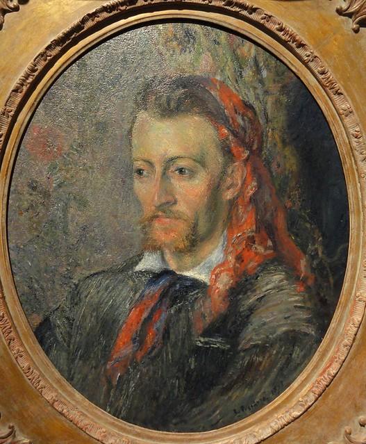 Portrait d'Eugene Murer (C Pissarro)