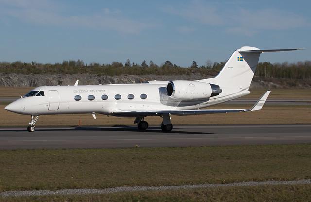 Swedish Air Force Gulfstream G-IV-SP (TP 102C) 102004 ARN 210512