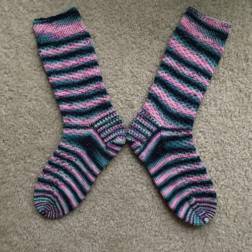 Hermione's Flamingo socks