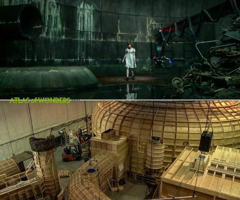 It film set on a soundstage