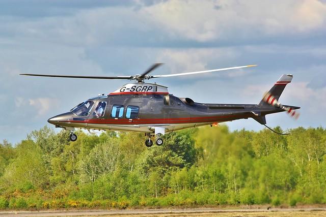 G-SGRP Agusta Westland AW109SP Grand   Apollo Air Services --- Blackbushe 12-5-21