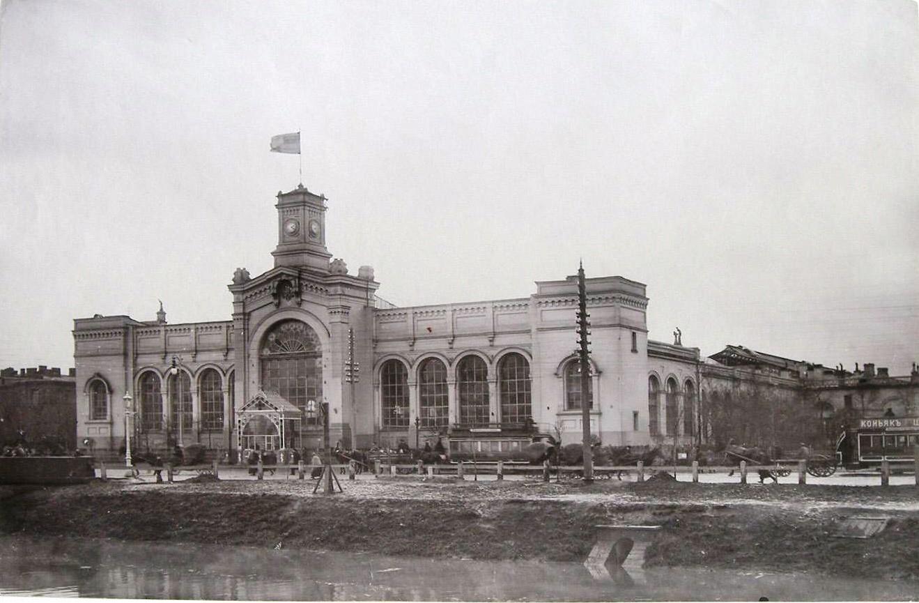 1903. Вид здания Варшавского вокзала