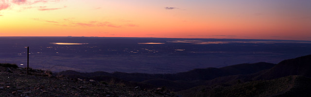 Mount Arden Sunset panorama