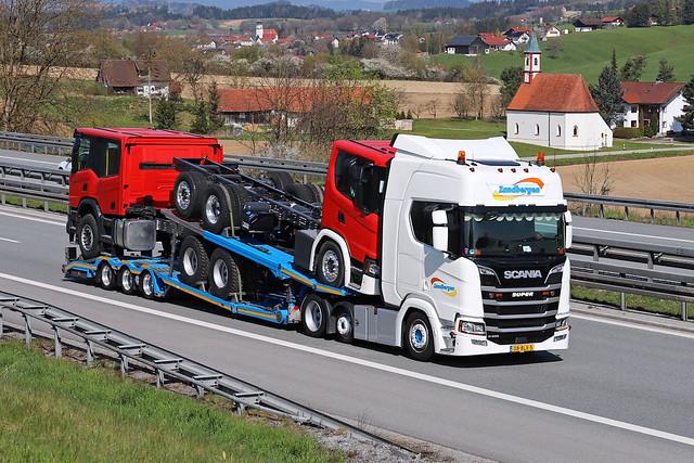 Scania R 450  Zandbergen High and Heavy