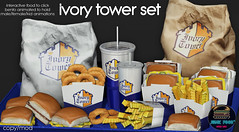 Junk Food - Ivory Tower Set AD