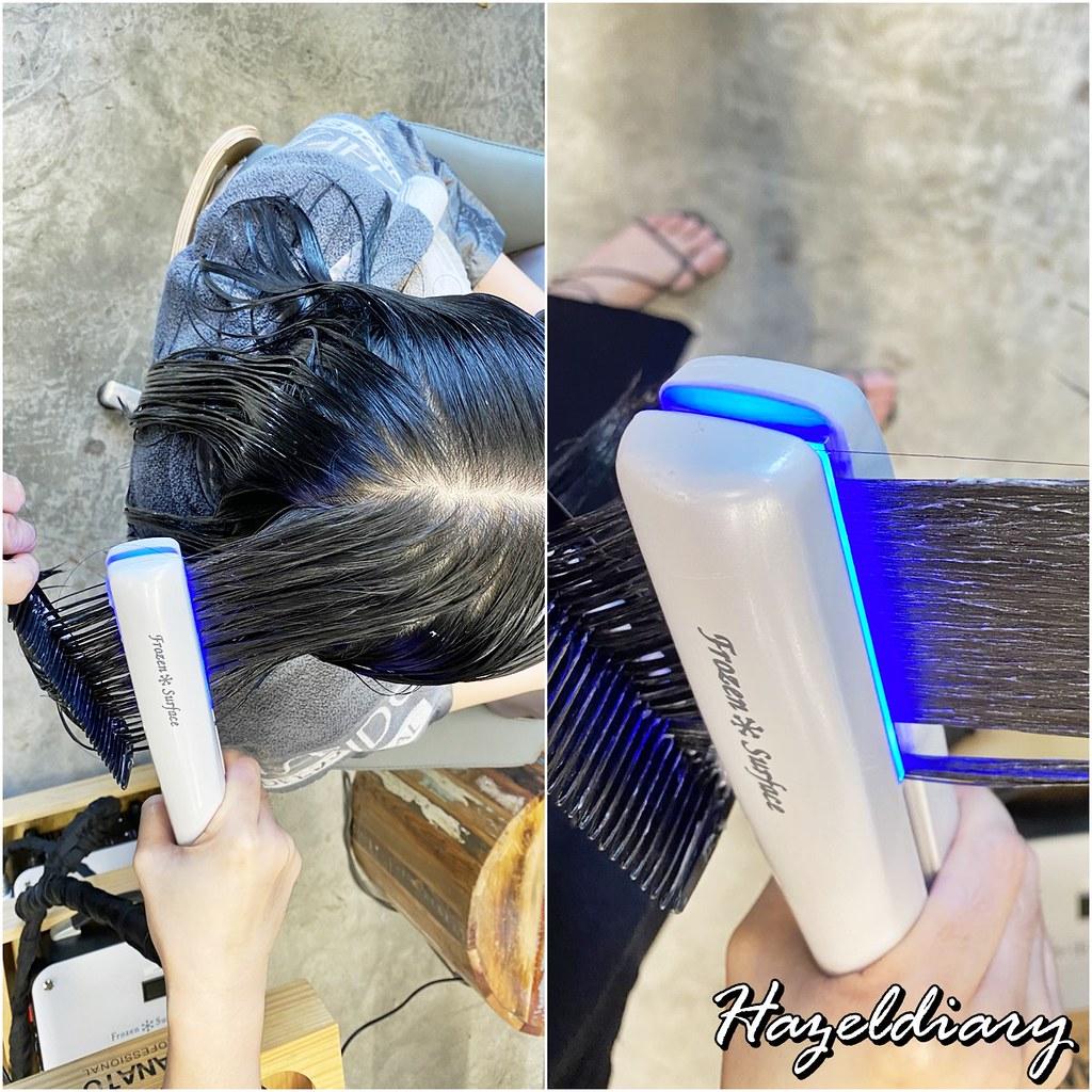 Walking on Sunshine Orchard Central-Aqua Hair Treatment Singapore