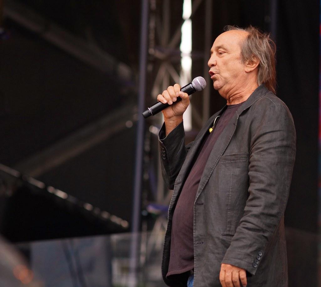 Claude Dubois, Répétition, Spectacle Saint-Jean, Place des Festivals, Sony A99, Montréal, 23 juin 2018 (12)
