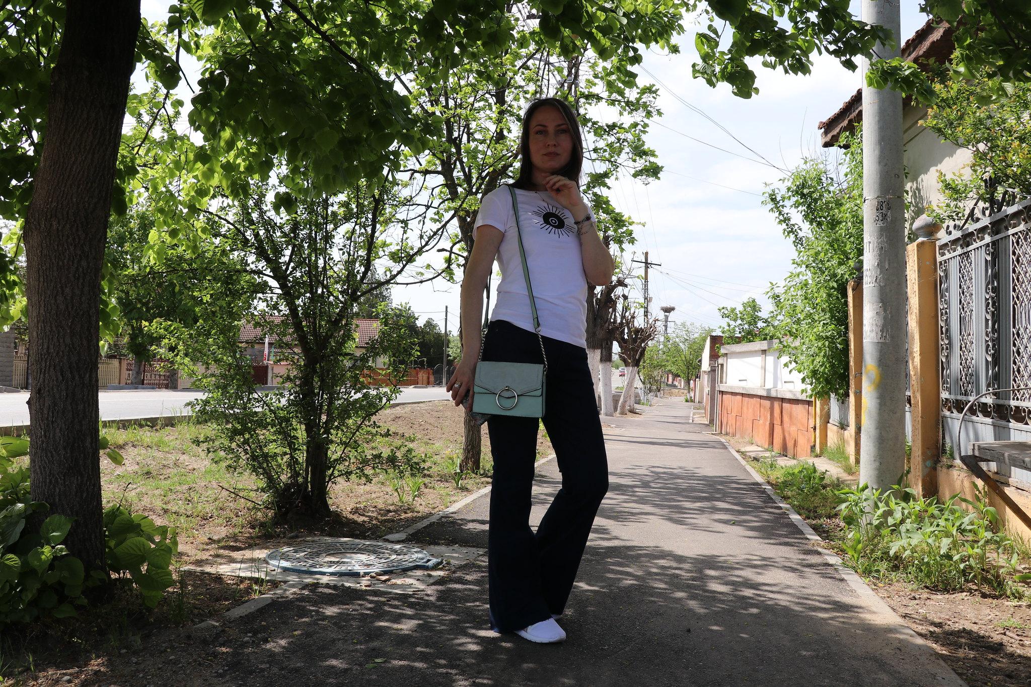 blugi evazați Modă sustenabilă cu BonPrix