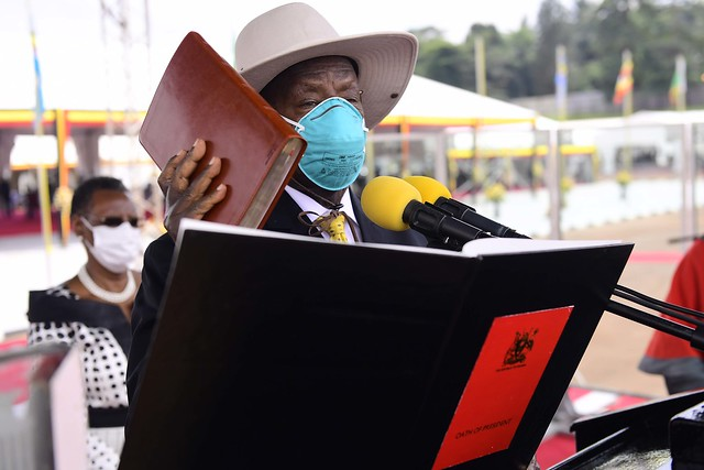 Swearing In Ceremony 2021 - MUSEVENI SWEARS 12th May 2021 - 06
