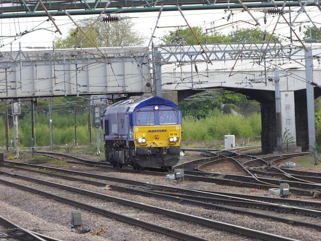 66148 passes Doncaster (13/5/21)