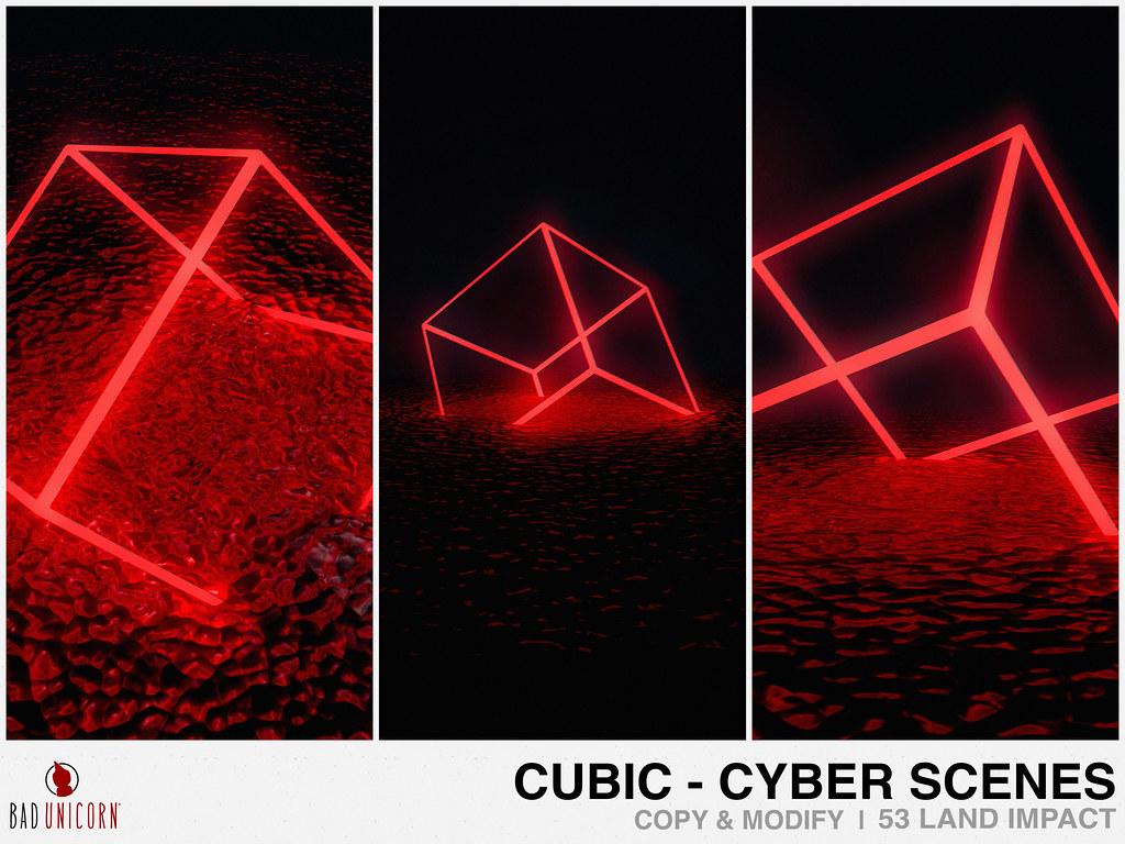 NEW! Cubic Cyber Scenes