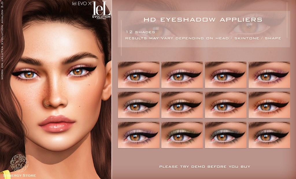 Synergy – Lelutka HD Eyeshadow Applier for EVO/EVO X heads – Vienna♥