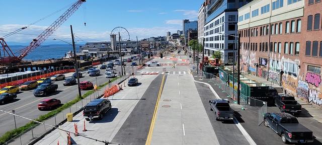 The Footprint of the Alaskan Way Viaduct is Gone