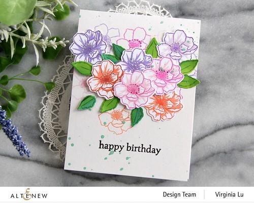 Altenew-MD Winsome Bloom-Wonderful Wycinanki Stamp Set -003