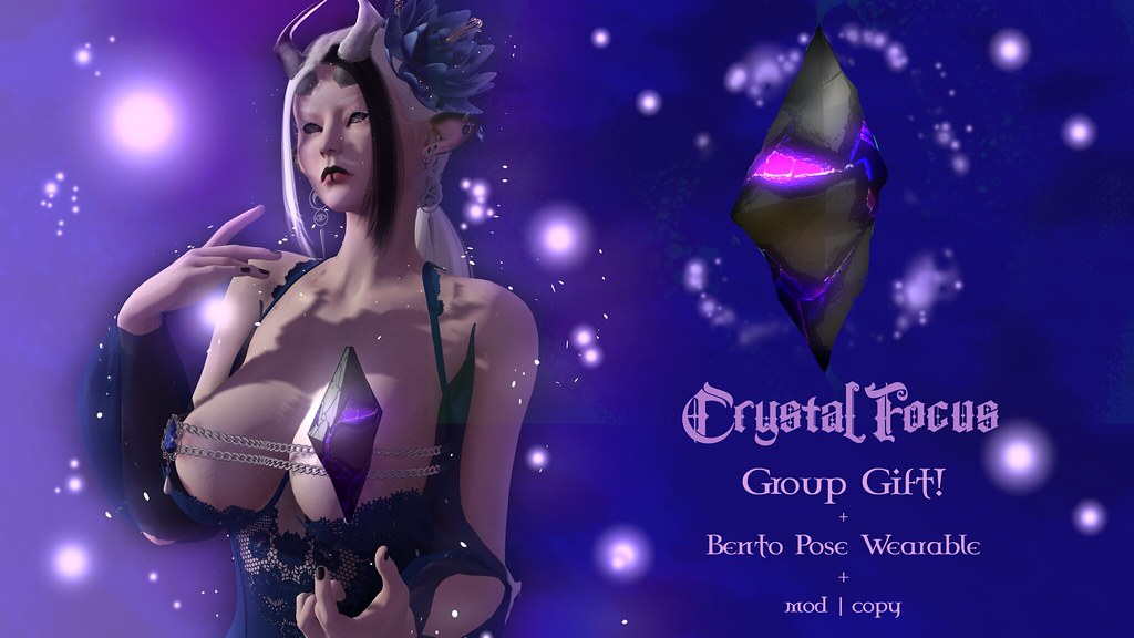 Group Gift! Crystal Focus – {Soleil et Lune}