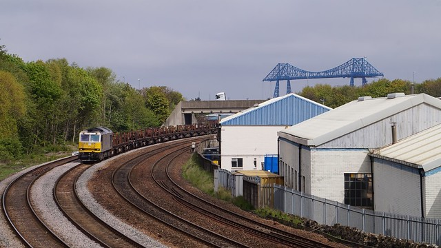 DB Cargo Class 60 (60066) in Middlesbrough, North East, UK