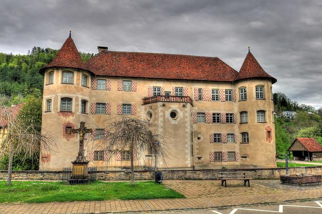 Sulz a. Neckar - Wasserschloss Glatt 06