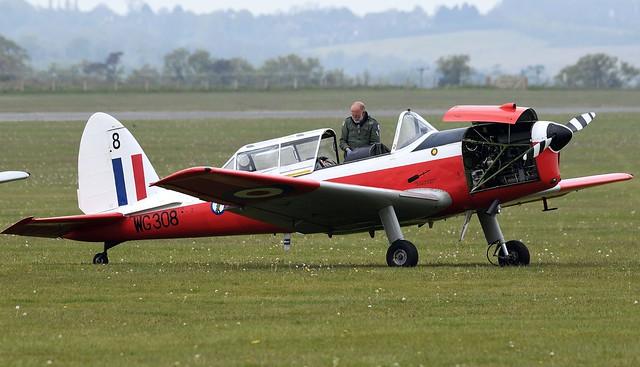 DHC-1 Chipmunk T.10 G-BYHL RAF WG308