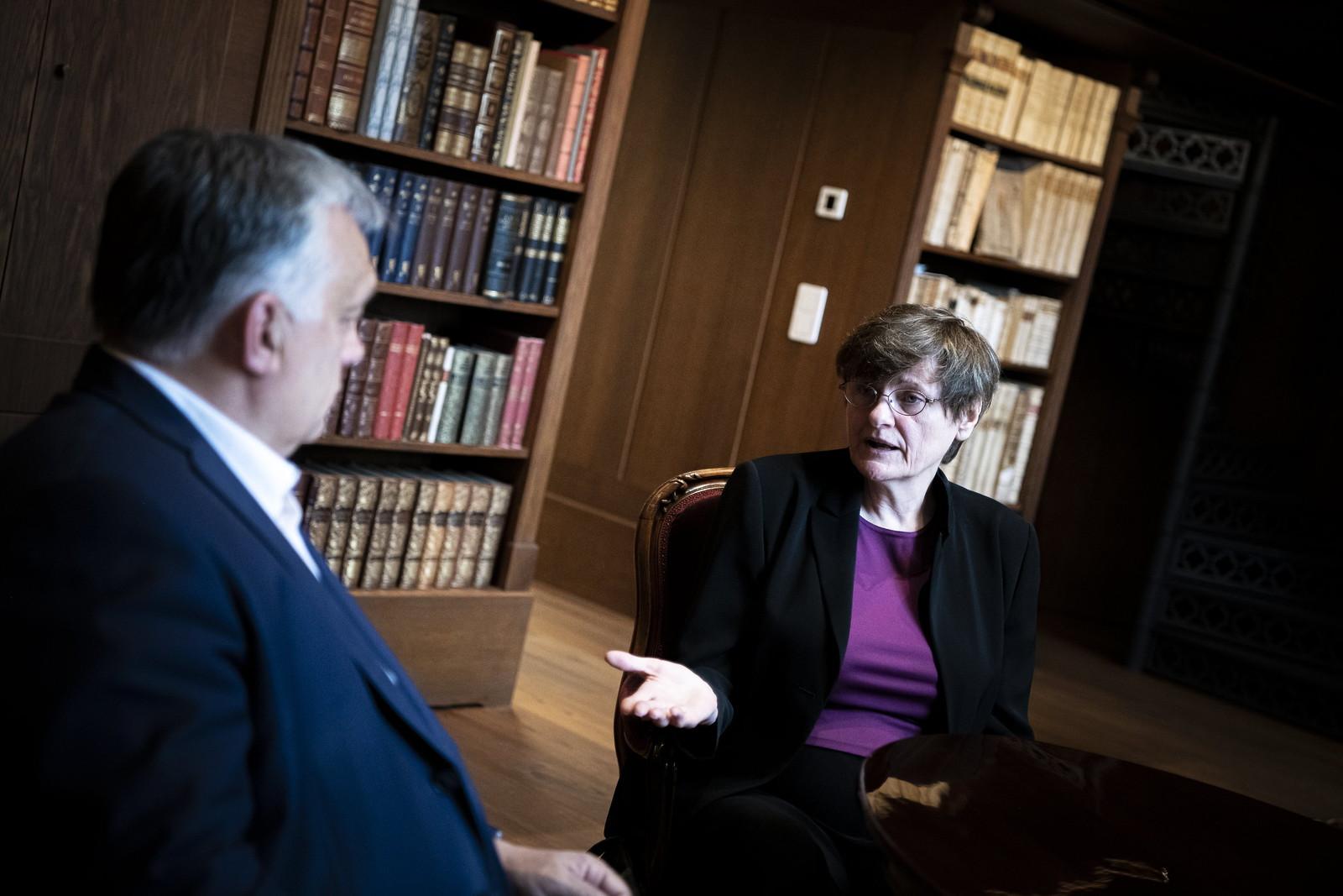 Karikó Katalint fogadta a budai várban a miniszterelnök