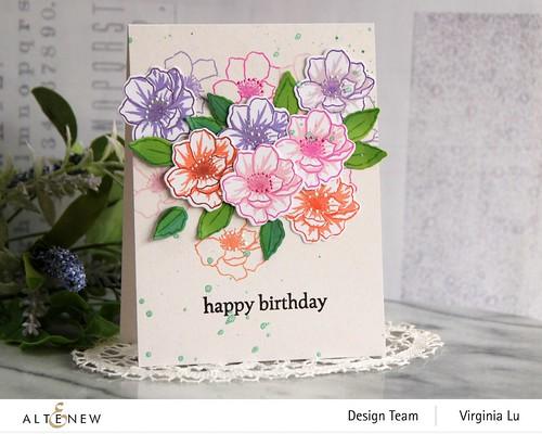 Altenew-MD Winsome Bloom-Wonderful Wycinanki Stamp Set -001