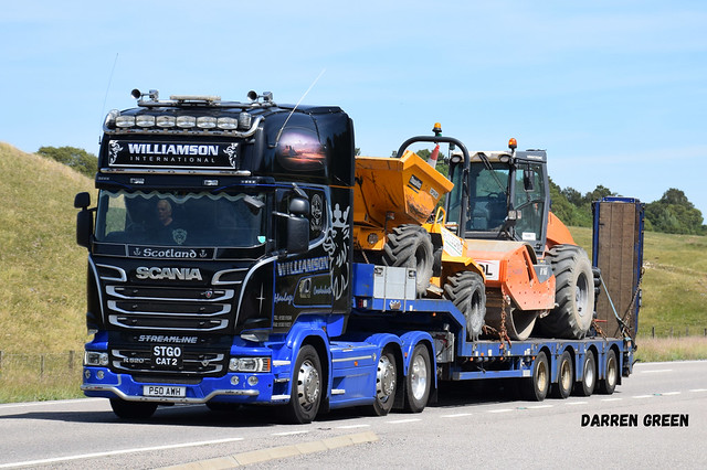 WILLIAMSON INTERNATIONAL SCANIA TOPLINE STREAMLINE R520 V8 P50 AWH