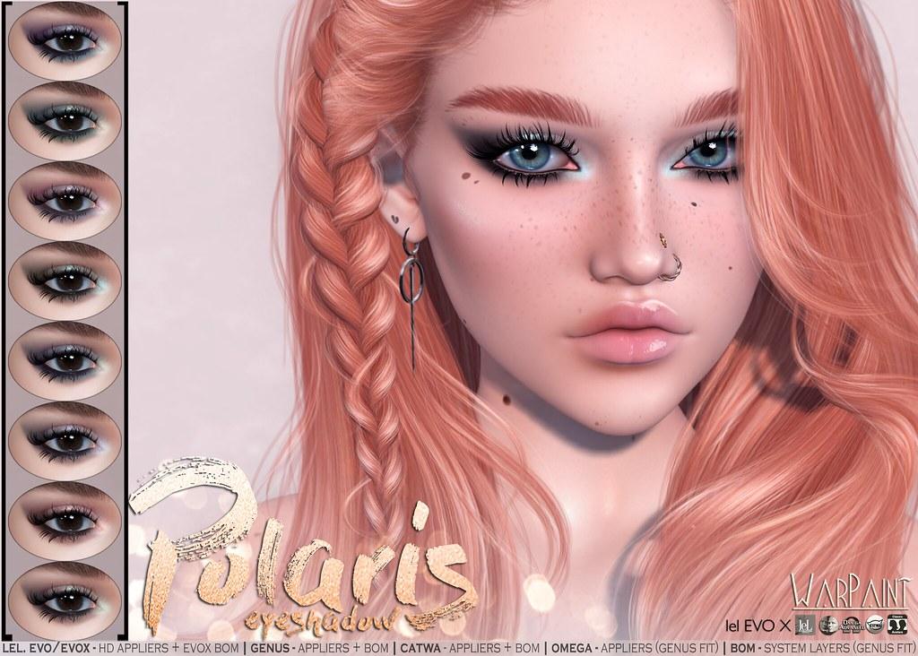 WarPaint* Polaris eyeshadow – updated!