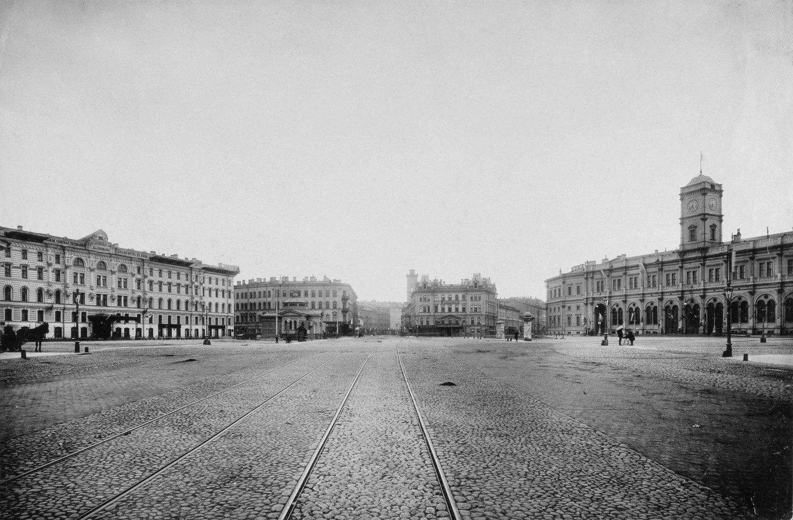 1900-е. Знаменская площадь