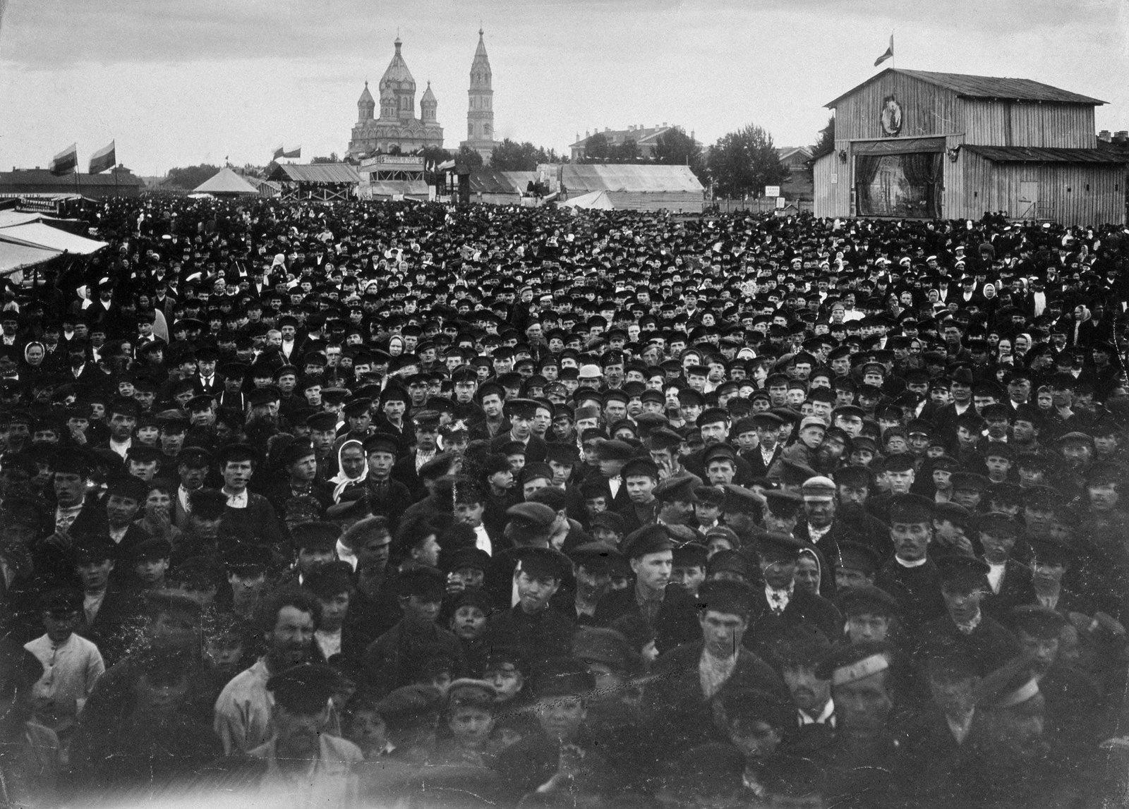 1890-е. Народное гуляние на Обводном канале